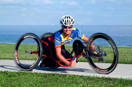 Adapted Handcycling