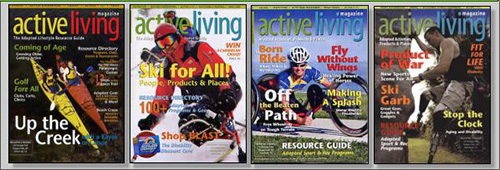 active living magazine covers