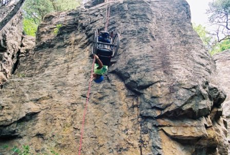 Adapted Rock Climbing