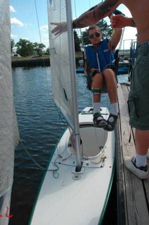 Adapted Sailing Lifts