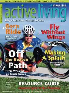 active living magazine cover
